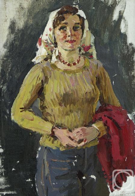 Овчинников Николай. Женский портрет