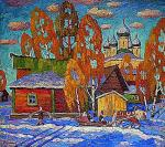 Berdyshev Igor. The first snow