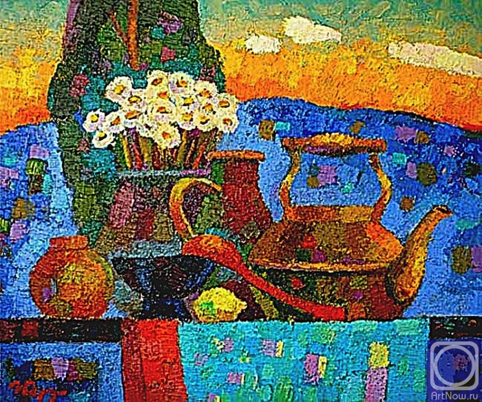 Berdyshev Igor. Evening Still Life
