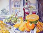 """Картина """"Парижский завтрак"""". Михальская Екатерина"""
