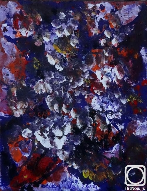 Volchek Lika. Relaktsiya love. Pansies and White (1)