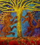 Volchek Lika. Wold tree of life