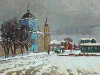 Zhukova Juliya. Day of snow