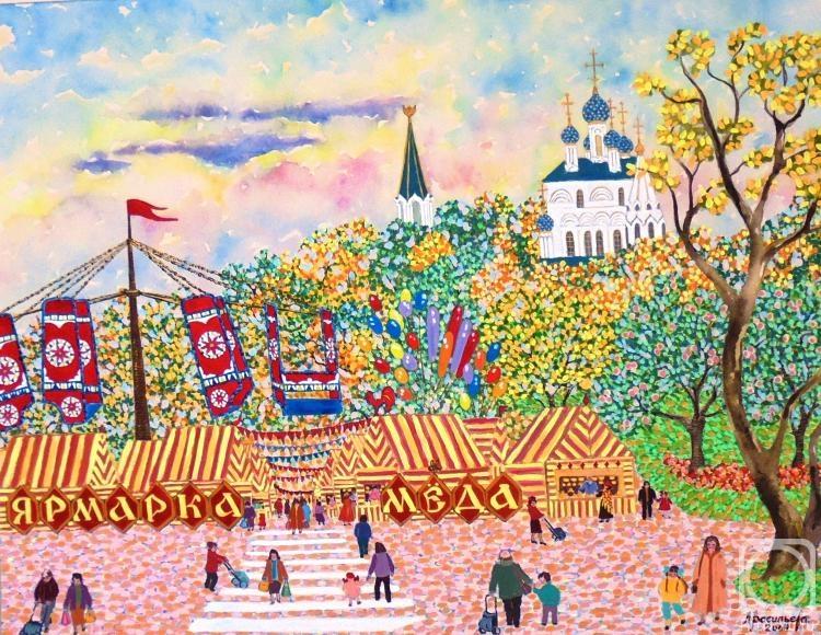 Рисованные картинки с ярмаркой
