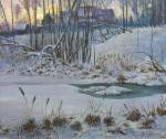 Зимние сумерки. Лукьянов Виктор