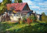 Biryukova Lyudmila. Grandmother's house