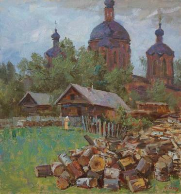 Panov Igor. They brought the wood