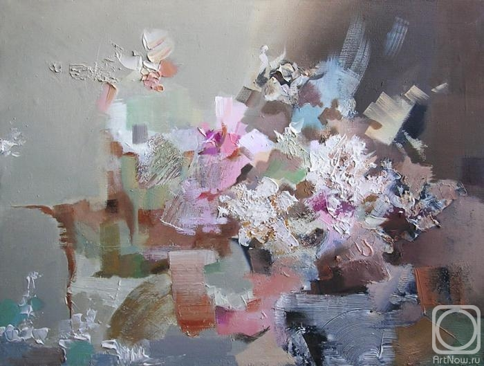 Пушина Татьяна. Цветочный абстракционизм