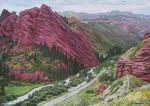 Красные горы. Самохвалов Александр