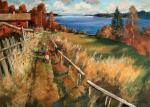 Kremer Mark. Warm autumn on the Lake