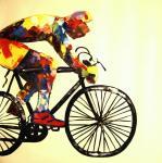 Картины на тему «Велосипеды»
