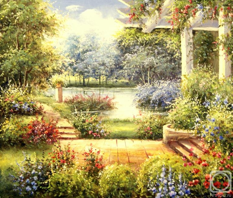 Смородинов Руслан. В саду