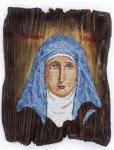 Преподобномученица великая княгиня Елисавета, икона (мозаика)