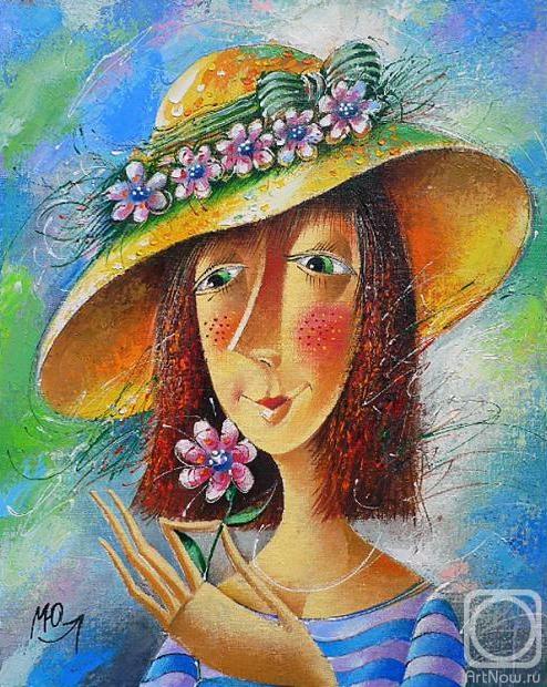 Картины цветок своими руками