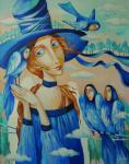 Панина Кира. Портрет синей птицы