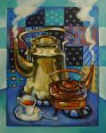 Панина Кира. Два чайника и чашка