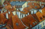 Панина Кира. Крыши старой Праги
