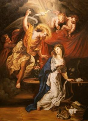 The Annunciation. copy P.P.Rubens