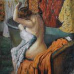 Сидящая купальщица. копия Э.Дега. Смородинов Руслан