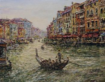 Teterin Sergey. Venice on the Grand Canal