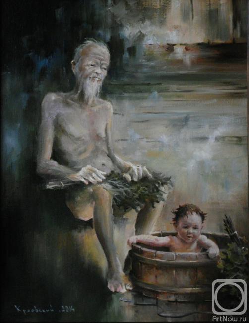 Дедули в бане бабули рассказы и