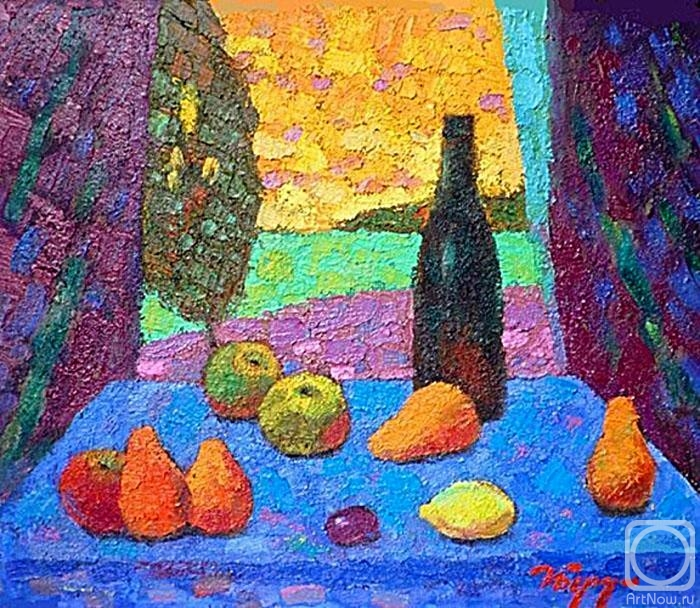 Бердышев Игорь. Вино и фрукты