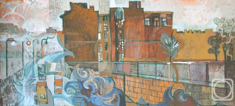 Наводнение. Картины художника. Удалова Ирина Александровна ...