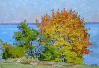 Bright autumn. Panov Igor