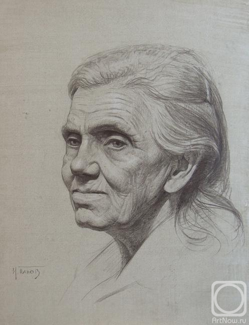 Как рисовать пожилую женщину