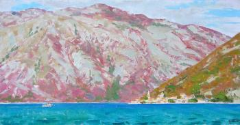 Panov Igor. Mountains of the Kotorsky gulf. Montenegro
