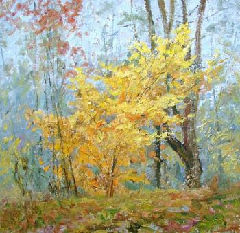 Panov Igor. In autumn wood