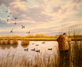 Duck hunting. Bruno Augusto