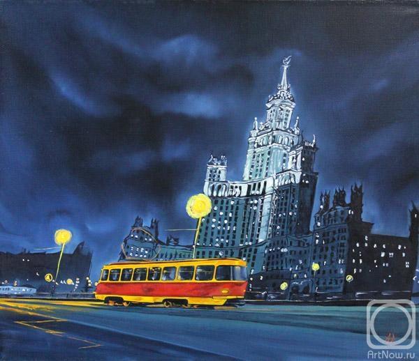 Аронов Алексей. Ночной трамвай