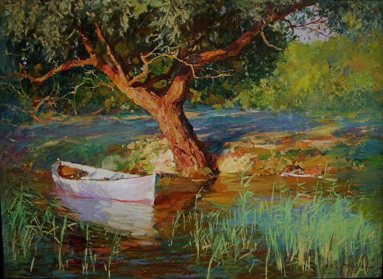 изображений ива в картинах художников делом промойте ягоды