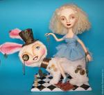 "OOAK Art doll ""Alice's new adventure"". Khotian Ivanna"