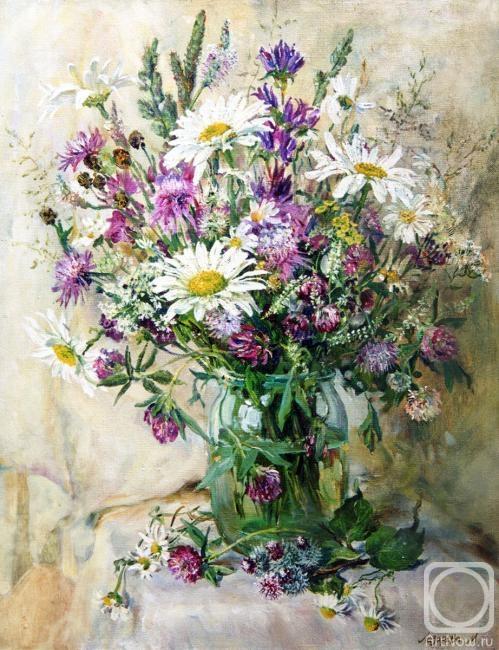 Лазарева Мария. Полевые цветы