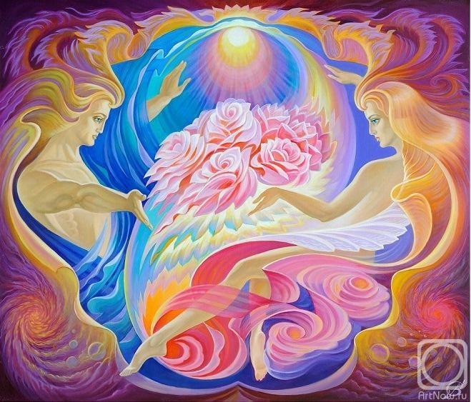 Богиня луны является ипостасью (экспансией, воплощением) самой матери миров, которой принадлежит все материальное