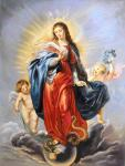 Immaculate Conception (copy P.P.Rubens). Smorodinov Ruslan