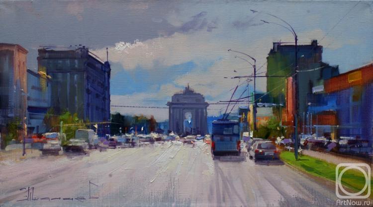 Shalaev Alexey. Motion celestial luminary have. Kutuzov Avenue