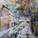 Чарина Анна. Водовозная улица в Коломне