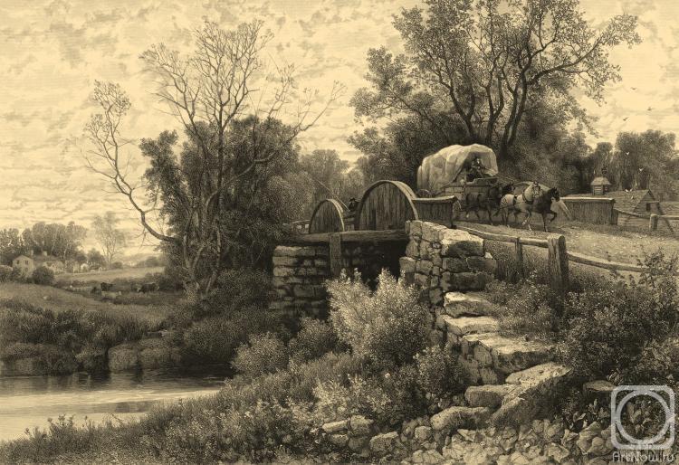 Колотихин Михаил. Старая водяная мельница