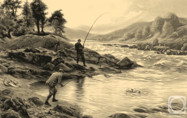 Колотихин Михаил. Ловля лосося