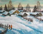 Kremer Mark Veniaminovich. The bright winter