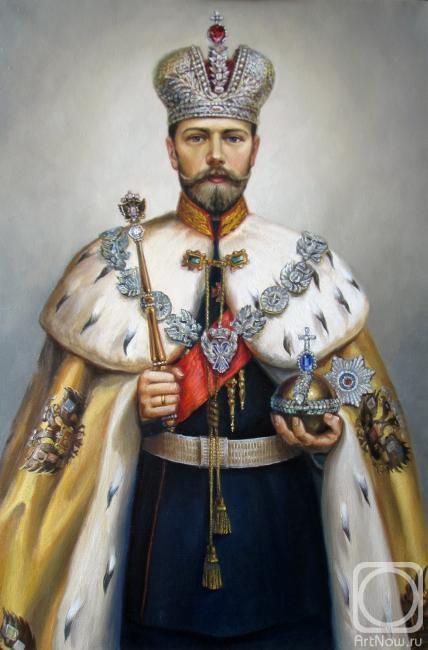 Родионов Игорь. Портрет Николая II (интерпретация)