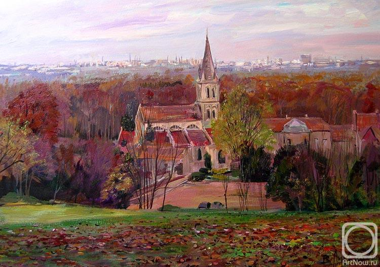 Loukianov Victor. The Church Notre-Dame at Jouy le Moutier. France