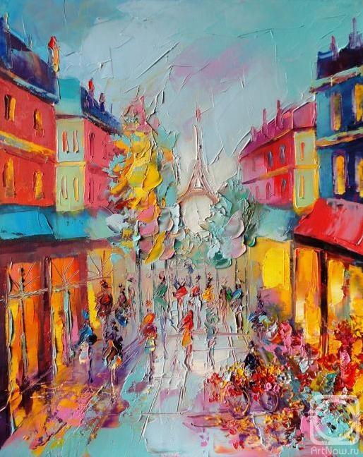 Моисеева Лиана. Улочки Парижа!
