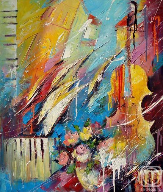 Моисеева Лиана. Цветовая симфония