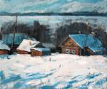 Kogan Alena. Snowdrifts. North winter