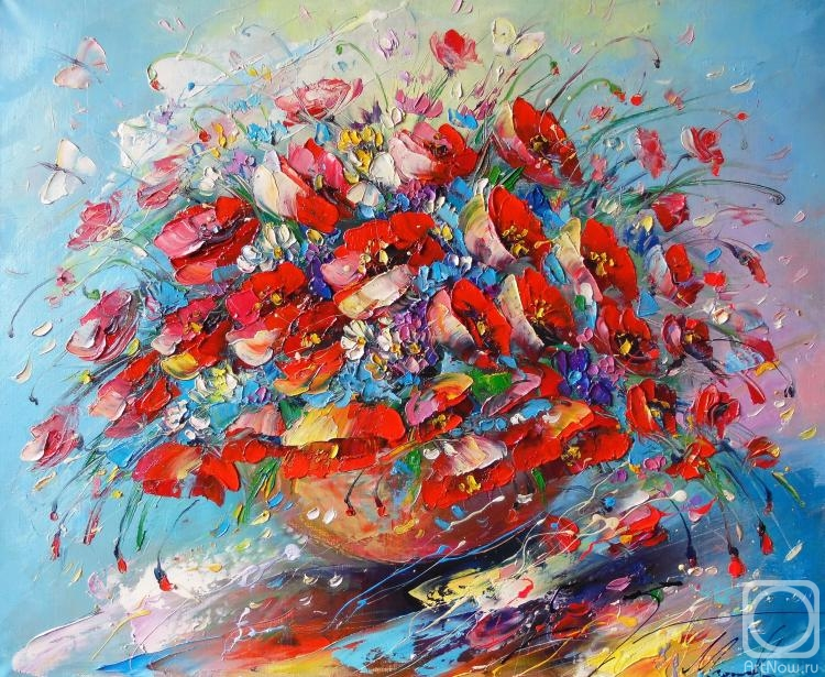 Моисеева Лиана. Цветочная палитра лета