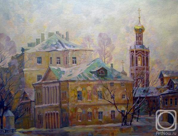 Герасимов Владимир. Москва. Страстной бульвар